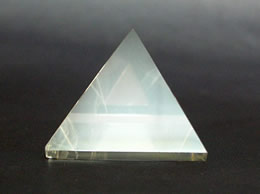 40 mm Clear Quartz Crystal Pyramid
