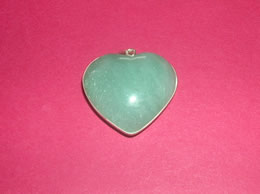 Related Green Aventurine Heart Pendant