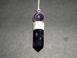 Related Amethyst Pencil Pendulum